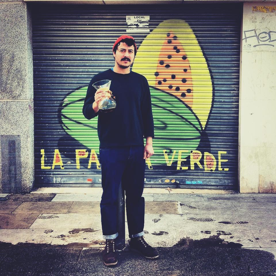 Jordi Mestre, owner of Nomad Coffee Production in Barcelona
