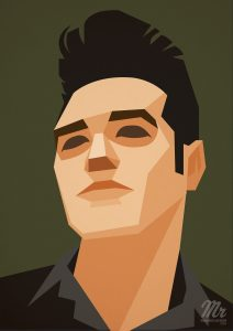 Portrait of Morrissey