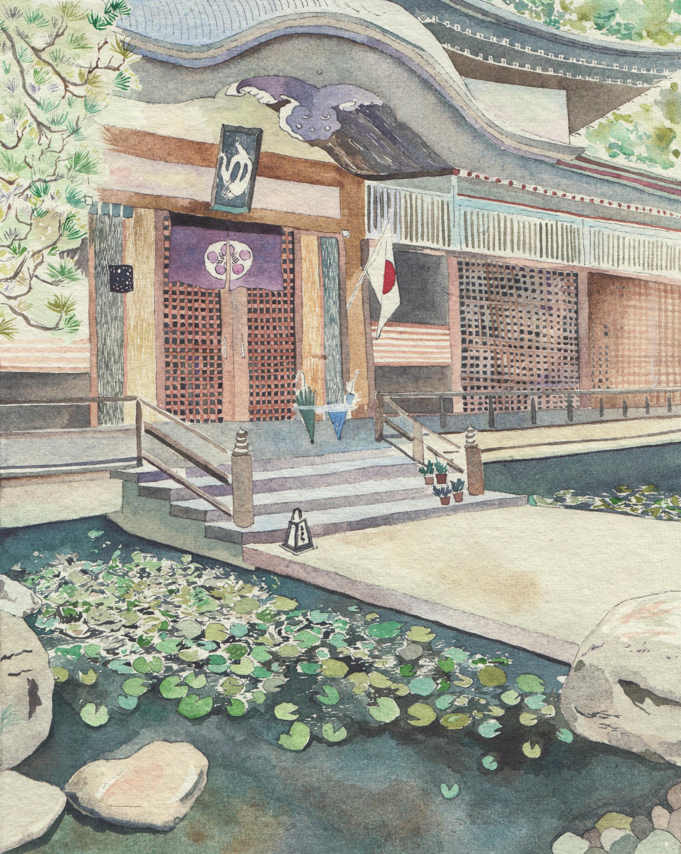 kinosaki onsen 汤屋