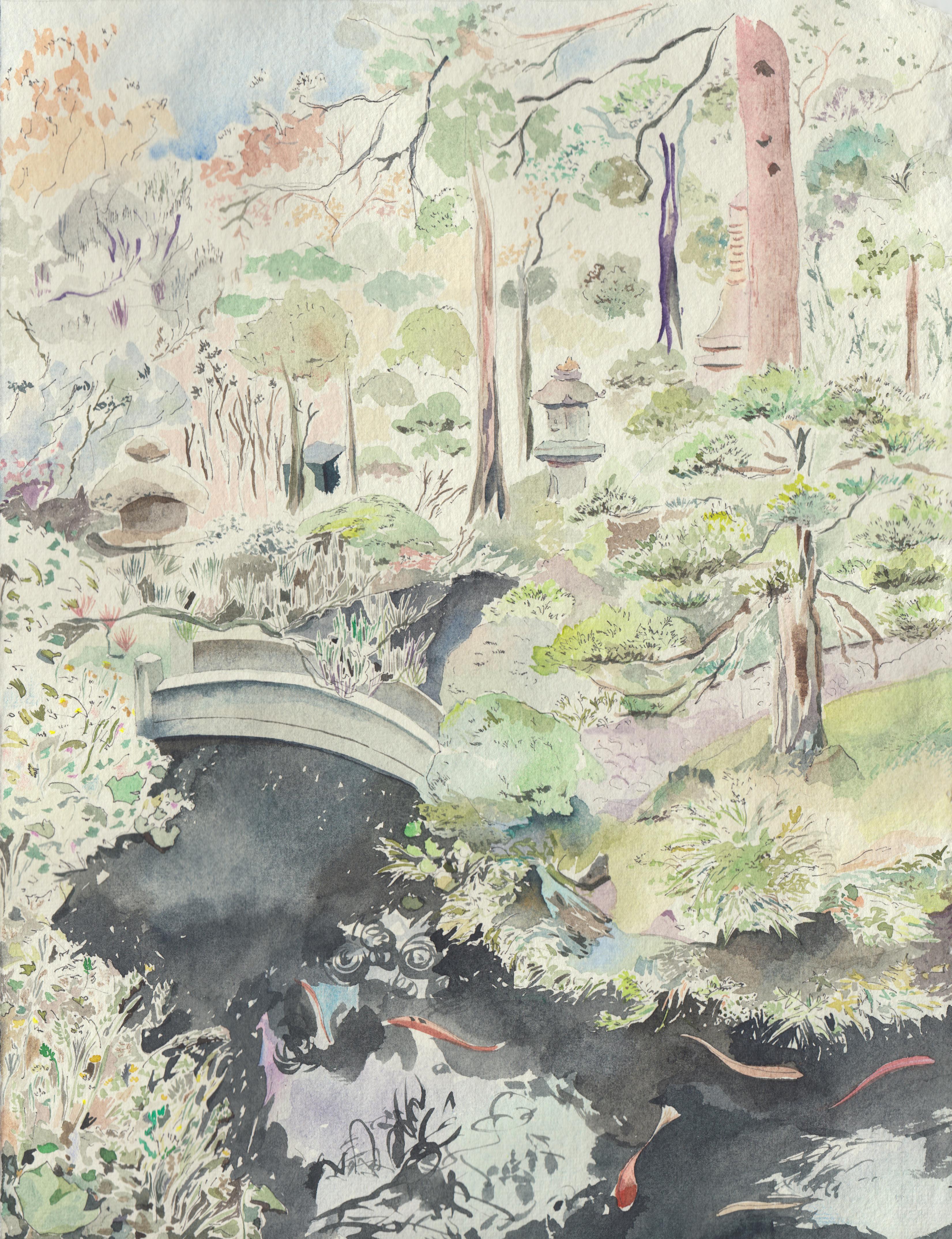 kinosaki onsen 1 garden view